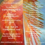 Explorations IV invitation