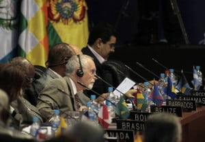 Such listed proposals would severely weaken Rapporteur's independence! Here, John Beale of Barbados is seen participating in a session of the OAS 42nd Assembly in Tiquipaya, Cochabamba June 4, 2012. REUTERS/David Mercado.
