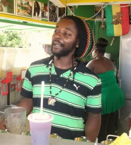 One of St. Maarten's popular natural juice makers shares some of his the success stories in building his enterprise