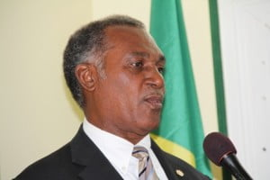 Premier of Nevis and Minister of Security in the Nevis Island Administration - Vance Amory