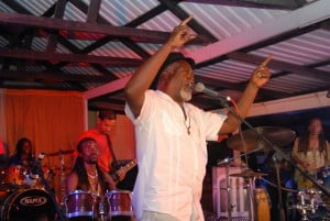 """The first half featured some really interesting collaborations. For example, Winston Farrell performed his classic Bus Man with Dj Hurricane and Adonijah on hand drums. Then there was Alan Sheppard jazzing up the Spice hits while giving a brief lesson on six-eight timing, and Tony """"Rebel"""" Bailey on guitar as Adonijah delivered his new rock single Gloria Jean complete with the requisite high-pitched scream."""