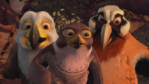 {IMAGE VIA - examiner.com} A high-spirited, naive young falcon leaves his father to seek his fortune in Zambezia, the famed city of birds, only to discover that community is what really counts.