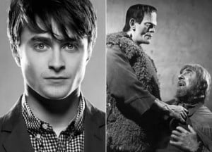 {IMAGE VIA - empireonline.co.uk} Daniel Radcliffe is IGOR in Frankenstein (2014) and Emma Watson becomes Cinderella (2014) in Disney's live action remake.