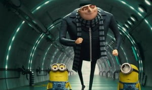 {IMAGE VIA - themovies.co.za}Get ready for more minion madness in Despicable Me 2. Chris Meledandri and his acclaimed filmmaking team create an all-new comedy animated adventure featuring the return of Gru (Steve Carell), the girls, the unpredictably hilarious minions...and a host of new and outrageously funny characters.