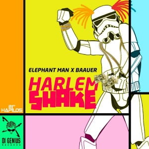 """(CLICK FOR BIGGER) """"Harlem Shake"""" created an international viral video craze online, inspiring fans to upload their own videos, and since Elephant Man who is known for his his dance minded music it was a marriage made in music heaven when """"Di Genius"""" put his dancehall spin on the track."""