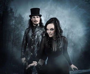 {IMAGE VIA - femalemetal.com} Imaginaerum By NightWish Film Trailer. A music fantasy movie film based on the Nightwish album of the same title.