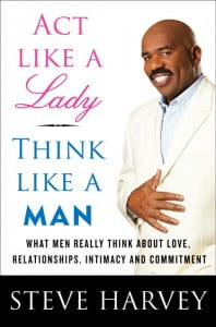 """Think like a lady but act like a man,"" by Steve Harvey and ""The Rules"" by Ellen Fein and Sherrie Schneider, in my opinion, encourage women to act as second class citizens, always vying for a man's approval and attention.  These books and my associate's statement encourage the same stereotypical behavior of women and what is expected of you; in order to get a man. A woman's job is to be docile and subservient, to smile at every turn and seemingly beg to be rescued out of her miserable single life.  How dare a woman love the single life and date like a man? Notice that I said date, not be intimate with every man, as there is a difference. She must then, as my friend and his friend assumed, be a player and therefore must be left alone."