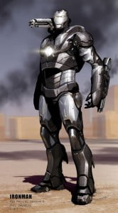 """{FILE IMAGE - WAR MACHINE} Get an even better look at Iron Man, Black Widow, Punisher, War Machine and more in """"Iron Man: Rise of Technovore,"""" an original anime movie coming to Blu-ray and DVD April 16!"""