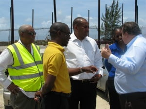 David Jean-Marie commented that the tour was to provide the Minister with a view of what happens at the Port and to discuss its future plans.