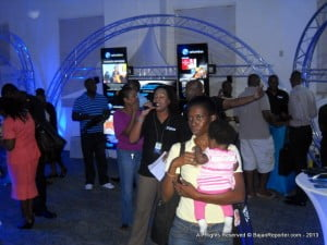 This was the Digital Pavilion, when Trinidad's Errol Fabien and Barbados' Katrina Marshall had Mini-Quizzes for guests at 2 Mile Hill. Wondering where the facebook locale is? Wonder no more... facebook.com/getflownow