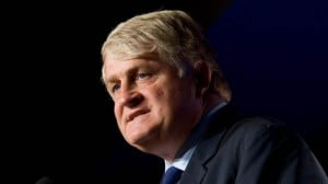 Denis O'Brien, Chairman of Caribbean Headquartered telecommunications company, Digicel