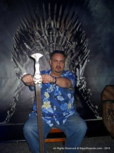 By the Others, who allowed this psychopath to hold a real sword from Game Of Thrones? Now he has usurped the Iron Throne! GoT is on HBO and one of many TV chanels Flow has in customised packages to suit your Budget, so decide if you want TV, Landline or Broadband do a Double (2 of the previous) or Triple which gets you a discount! Flow: Barbados' newest, fastest, most affordable broadband video, internet and voice provider... Watch, Talk, Click! 17th is last chance to visit the LESC on 2 Mile Hill, and register without having to pay any Installation Fees!