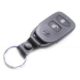 {IMAGE VIA - shoppingshadow.com} Among the keys is a Hyundai key along with a Hyundai keyless entry device. Attached to the keys is what appears to be a family picture, an drink opener and an Automate Card from Consumers Guarantee Insurance.
