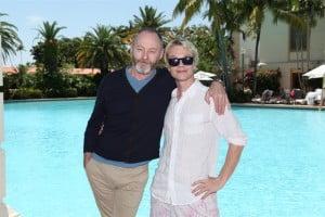 Both actors enjoyed their visit to Miami.