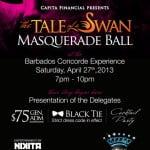 Miss Barbados World Masquerade Ball 2013