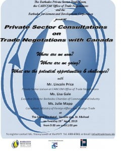 (CLICK FOR BIGGER) Trade Negotiations with Canada & Private Sector Consultations