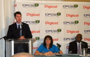 Digicel's Kieran Foley says that as CPL's major sponsor, the company is pulling out all the stops to create major buzz and excitement around the CPL T20 tournament, and have made a significant investment in a marketing campaign that will include advertising, public relations and promotional activities.