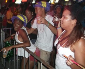 Bacchanal Jamaica's patrons have fun