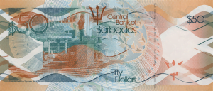 (FILE IMAGE VIA CBB) The map of Barbados watermark, which has been found on all denominations since 1973, has been replaced by six distinct watermarks - the image of the person featured on that denomination's portrait. Below the main watermark is a second, smaller one that shows the note's value in numbers. Both watermarks can be seen on the left side of the note when it is held up to the light.