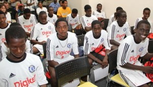 The Digicel Kick Start programme selects the region's top young footballers to attend the Digicel/Chelsea FC Academy in Barbados
