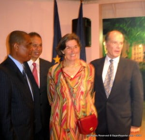 Ambassador Sturm also has responsibility for Trinidad and is based in Port of Spain. (SA/BGIS)