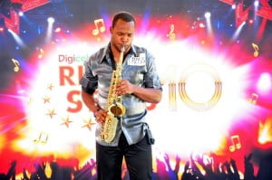 DRS is not just about singing as this Saxophonist showed in Ocho Rios