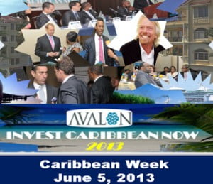 Only six exhibitor table spots are available and four ad spots remain in the 2013 Program Directory. Interested companies can email Joe Bernstein at joe@investcaribbeannow.com before May 7th to sign up or get more information at http://investcaribbeannow.com/partnership-options/  ICN 2013 is made possible with sponsorship dollars from marquee sponsor Avalon Partners, gold and reception sponsor, The Government of the Turks & Caicos Islands; and bronze sponsor, One Caribbean Television.