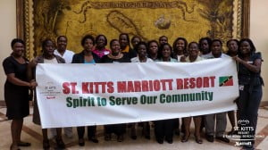 "Supporting their local community and giving back has been an embedded activity within the St Kitts resort by embracing Marriott's ""Spirit to Serve"", and their support has come through numerous donations and partnerships to a multitude of establishments on St Kitts and Nevis."