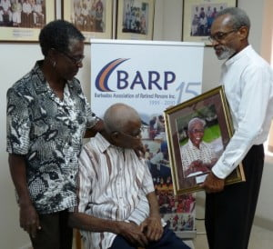 """The Barbados Association of Retired Persons extends sincere condolences to the family of the late James Emmanuel """"Doc"""" Sisnett. Mr Sisnett was the oldest person in the western hemisphere and he was the only living verified Barbadian super-centernarian and last surviving verified black man born in the 19th century."""