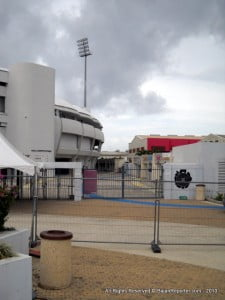 (file iage - 2010) Acting on information, Walcott was seen and search by police near to the Box office at Kensington Oval on the night of the Vintage Reggae Show. He was found with a quantity of Counterfeit tickets in his possession for that show, he was arrested.