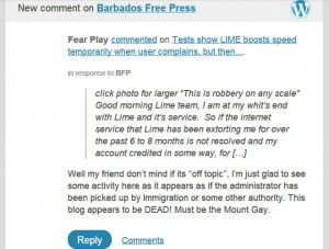 If they do return and the comment gets removed? Here's regular reader who also noticed their extended absence...
