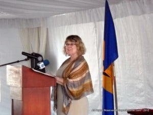 (FILE IMAGE - BARBADOS, 2012) Minister Ablonczy is currently on a seven-day, seven-country tour of the Caribbean as part of the Harper government's ongoing efforts to deepen Canada's engagement in the Americas.
