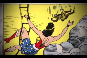{IMAGE VIA - thethousands.com.au} Wonder Woman provides a rare example of a female heroine who doesn't require rescue, determines her own missions, and possesses uniquely feminine values.