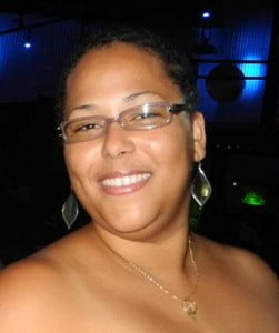 Robin Boasman, St. Martin's newest author is a teacher at Sister Magda Primary School. (Photo courtesy Gee Money)