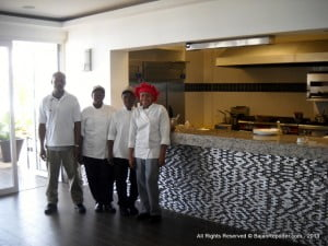 Like to see how your meals are prepared? So do the energetic and friendly staff, if the meal is superb? Tweet it! twitter.com/SoCoBarbados