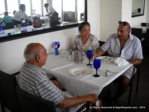 This family originates from Kenya, doing research and appreciating Ralph Taylor's expertise they made it their business to patronise SoCo and stayed in Barbados, enjoying good food, great company and a breathtaking ocean view.