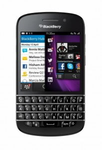 The power of BlackBerry 10 with a Classic BlackBerry Keyboard