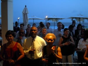 The event was crammed with all types of Barbadian society & business community...