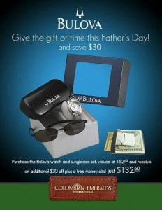Father's Day Special: Prices listed all in $US Currency {CLICK FOR BIGGER}