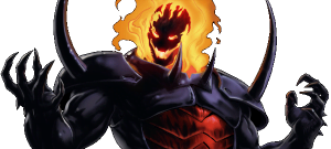 """{IMAGE VIA - rapgenius.com} Doctor Doom visits the dread Dormammu in his quest for power in the second part of the animated prelude to the """"Marvel Heroes"""" MMO!"""
