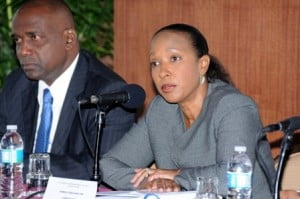 "Speaking at the opening of the meeting Caribbean Exports' Executive Director Pamela Coke-Hamilton stressed that ""It is also important to note that there are host of opportunities for enhanced trade and investment between CARIFORUM States, the French Caribbean and the OCTs. These opportunities range from the traditional trade in goods (where CARIFORUM enjoys trade surpluses) but also with regard to trade in services where all parties have significant opportunities to gain from enhanced private sector involvement."""