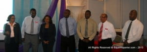 (BARBADOS STAFF AT ACCRA RECENTLY) Scotiabank's GTB unit offers corporate and commercial clients integrated business solutions to support operations in their country of origin and internationally.