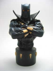 {IMAGE VIA - thepit-statuecollection.com} In this way, they are very much like us...or we like them. Batman and Spiderman are two of my favourite characters; that's because the tougher the challenge, the greater their determination to overcome it. On my desk is a fierce Randy Bowen bust of The Black Panther, who embodies the strength, stealth, pride, and ingenuity of his people. These heroes fight knowing that with great power comes great responsibility, and that any one of us, at any time, can wield that power for the good of all.
