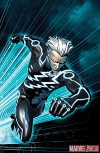 {IMAGE VIA - doompool.com} Aaron Taylor Johnson (Kick Ass 2) is wanted for Quicksilver in Joss Whedon's Avengers 2 movie. Evan Peters is playing the role in X-Men Days of Future Past. Subscribe http://bit.ly/RDwlvz