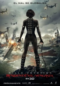 {IMAGE VIA - impawards.com} Resident Evil: Retribution (Screen Gems) - The Umbrella Corporation's deadly T-virus continues to ravage the Earth, transforming the global population into legions of the flesh-eating undead. The human race's last and only hope is Alice (Milla Jovovich). Aided by newfound allies and familiar friends, Alice must fight to survive long enough to escape a hostile world on the brink of oblivion. Directed by Paul W. S. Anderson. (CLICK FOR BIGGER)