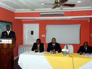 The commissioner revealed to his men that specific instructions were received from the Attorney General, Jason Hamilton, not to arrest the PAM leaders, and the PLP leaders but that certain PAM supporters were to be arrested.
