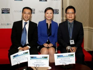 Panelists on the China and the Caribbean panel at the 2013 Avalon Invest Caribbean Now Forum in NYC on June 5th. (Hayden Roger Celestin image)