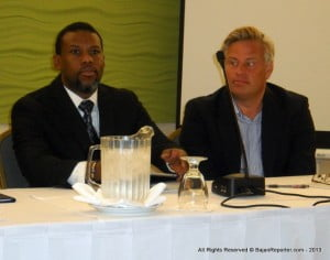 Noting that the Caribbean Development Bank's 2012 annual report estimated that US$18 billion was paid out in direct damage to 17 of the borrowing countries including Haiti over the last 25 years, Mr. Brathwaite said the area of disaster management did not attract the type of financial resources that it should.
