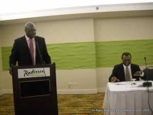 """""""I wish to again publicly commend the emergency system in Barbados for a job well done and thank the Department of Emergency Management for its leadership in coordinating that process,"""" the Cabinet Minister said before heading to Parliament."""