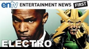 (FILE IMAGE) Jamie Foxx's electro in this new Comic Con teaser for Marc Webb's Amazing Spider-Man 2. Starring Andrew Garfield, Emma Stone, Paul Giamatti and Felicity Jones. Subscribe http://bit.ly/RDwlvz